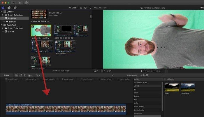 Green Screen Add Clip