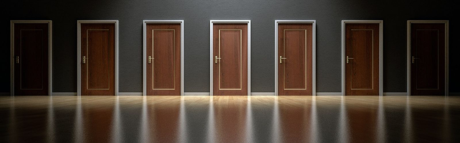 What's behind the door?