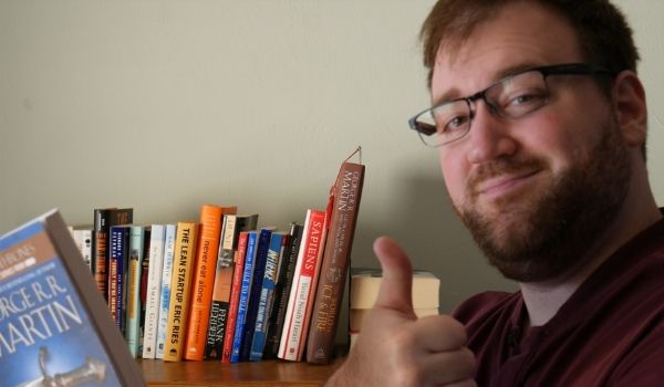 embracing your crappy bookshelf