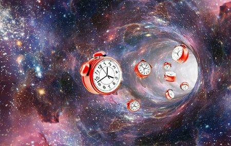 clocks getting sucked into wormhole thumbnail hero image