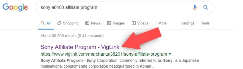 affiliate program google