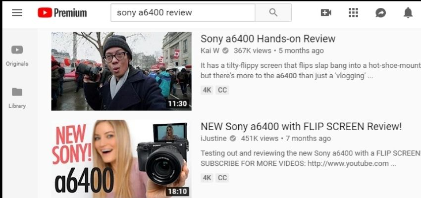 youtube affiliate reviews